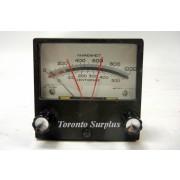 API Instruments 0303KU 38-8204-8002 Shielded Meter