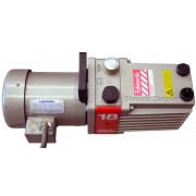 Edwards 18 E2M-18 / E2M18 Direct Drive, Sliding Vane, Single Stage Rotary Vacuum Pump with Leeson C6T17FC1B / 1-10047-00 / 11004700 Motor - 3/4HP, 1724RPM, 3PH