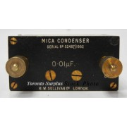 H W Sullivan & Griffiths 0.008µF Mica Condenser