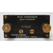 H W Sullivan & Griffiths 0.009µF Mica Condenser