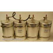 Sinclair Technologies YA3-01180-03 / FQ30207*3 / FQ3037*3, C3037 Series UHF 4 Cavity (7''x10.75'') Duplexer, 3 pass,  Rack Mount, Adjustable Frequency, 430-450 MHz