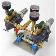 Fisher 67CFR-235/T2/ 67CFR235/T2 Pressure Regulator with Swagelok Valves, Dual Reduntant Pressure Regulator Assembly rm