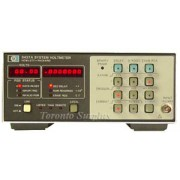 HP 3437A / Agilent 3437A - System Voltmeter
