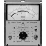 HP 400E / Agilent 400E - Voltmeter, AC