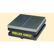 Melles Griot 17 HFV 001 / HFV001 Nanopositioning Standard V-Groove Fiber Holder with 2 Magnetic Clamps - BRAND NEW/NOS