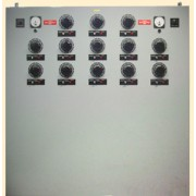 Station Power Supply / Variac Control Panel with 13 x Superior Electric Powerstat 236BU Variacs & XL5C5A2-1 & VT110