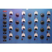 Station Power Supply / Variac Control Panel with 16 x Superior Electric Powerstat 136BU Variacs