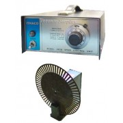 "DL Instruments / Ithaco 383B Motor Speed Controller and 383A Light Beam Chopper 9"" diameter"