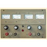 a  40V,   1A Lambda LPD-422A-FM Power Supply, Regulated Dual Output 0-20 V, 0-1.7 Amp, Input 47-440Hz