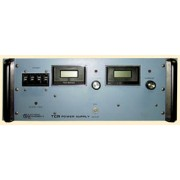 a  20V, 125A Electronic Measurements EMI TCR 20T125 Power Supply w Overvoltage Protection, 0-20 VDC, 0-125 Amp, 3 Phase