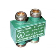 Microlab / FXR CA-65N Directional Coupler, 2.0-4.0 GHz, 3 db, Type N Connectors