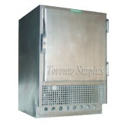 Jewett Refrigerator UC-5-CW UC5 Refrigerator, Stainless Steel with 2 Shelves