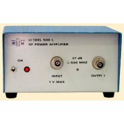 ENI 500L RF Power Amplifier 2-500 MHz, 27 dB, 1 V max