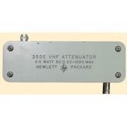 HP 355E / Agilent 355E Programmable VHF Attenuator DC-1 GHz, 0.5 W, 50 ohm