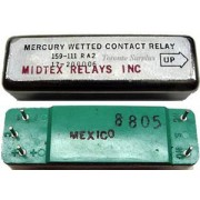 Midland Ross Mercury Wetted Contact Standard Relay, 159-111 RA2, 017-20006