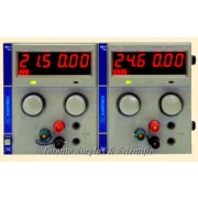 a  60V,   1A Xantrex 6060D Dual Regulated DC Power Supply (Current model is XT60-1)  0-60 VDC, 0-1 Amp