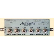 Kay Electric Model 451B Model 20-0  Manual Step Attenuator 1 dB / 2 dB / 3 dB / 5 dB / 10 dB / 20 dB