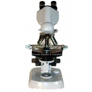 Carl Zeiss 392560-9001 Binocular Head on Einbau-Trafo Microscope Body with Built-in Lamp, Eyepieces & Objectives