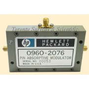 HP 0960-2076 / Agilent 0960-2076 PIN Absorptive Modulator, 3 SMA Connectors