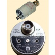 General Microwave N401A Bolometer Mount for use with 451 Power Meter