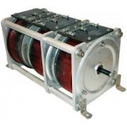 General Radio W20 GenRad Variac Autotransformer 3 Gang , Output: 0-120 V, 3 Phase, 20 Amps/Phase