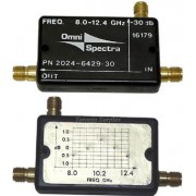 OmniSpectra 2024-6429-30 Directional Coupler, 8.0-12.4 GHz, 30 dB