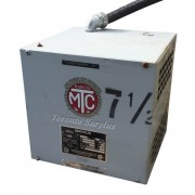 Marcus Dry Type Transformer WM, 600-120/240 VAC, 7.5kVA 1Ph