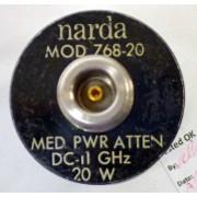 Narda 768-20 Fixed Coaxial Attenuator