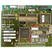 Hospal 9031046100 6960587 Main2 Video BW Circuit Board Assembly for Integra Dialysis Machine - Pull