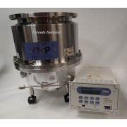 Shimadzu Corporation TMP-3403LMC (A2) Magnetically Levitated Turbo Molecular Pump with Shimadzu EI-D3403M / 2203 Series Turbo Pump Controller