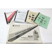 Kulicke & Soffa 8028 Bondng Machine Manuals Vol 2 Maintenance,Vol 4 IPA Illustrated Parts Book, Level 1 & Advance Training Manuals & More