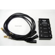Fat Pro FPM-4 Four Channel 48V Microphone Power Supply