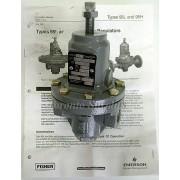 Fisher Controls Type 95 H-105 Pressure Regulator rm