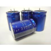 Elna 35V 3300uF RJ4 Mini, Snap-In Aluminum Electrolytic Capacitors