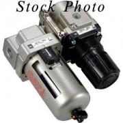 SMC Pneumatics AC55B-10DG Air Combination Air Filter + Regulator Modular BNIB / NOS