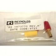 Teledyne Reynolds Industries RI 1673770 / 167-3770 Rev H 600 Series Plug Kit, Shielded, Knurled Coupling