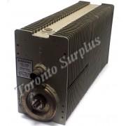 Fairchild DA-169/GLQ-3 Coaxial Resistor / Dummy Load, Oil Dielectric, 20-230 MHz, 2500 W, 50 ohm