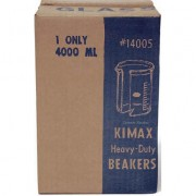 Kimble Products 14005-4000 KIMAX Heavy Duty #14005 4000ml Glass Beaker