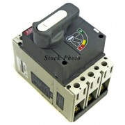 ABB SACE S3 S3N 3-Pole Circuit Breaker with extension Rod 600 VAC 20A