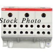 ABB 035620926 BRT115A / BRT 115A 3 Pole Distriubtion Block